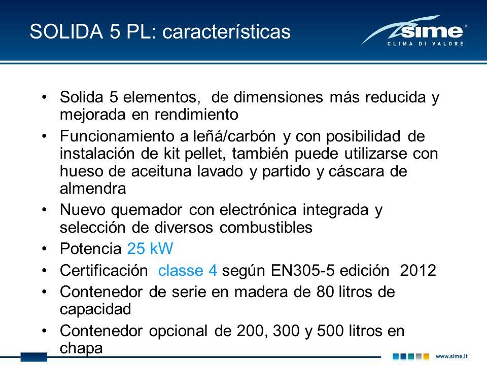 SOLIDA 5 PL: características