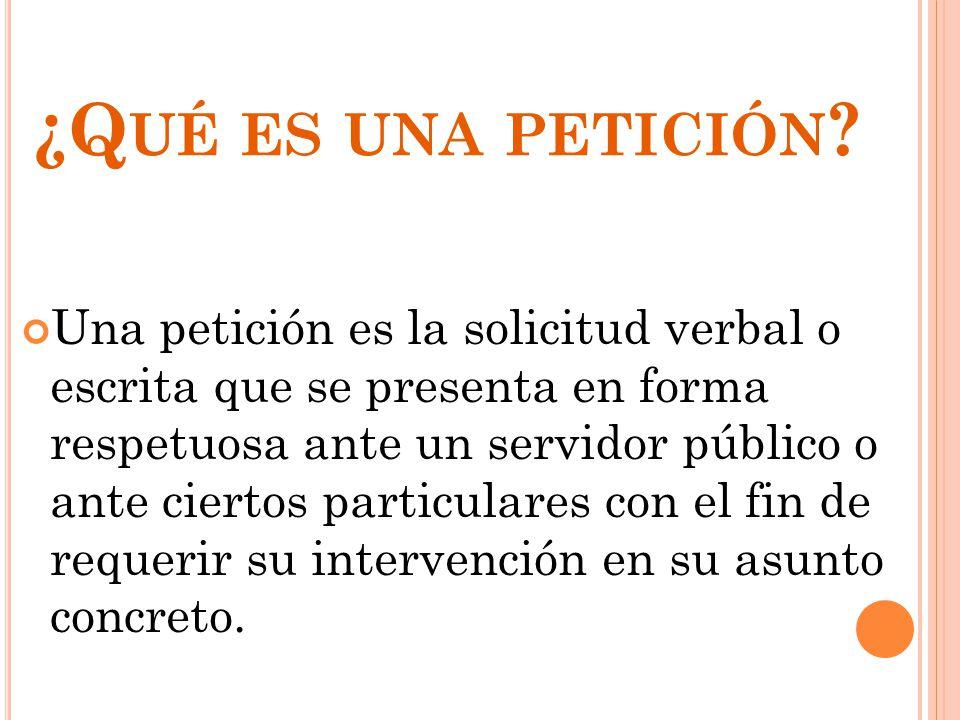 derecho de petici u00f3n y tutela