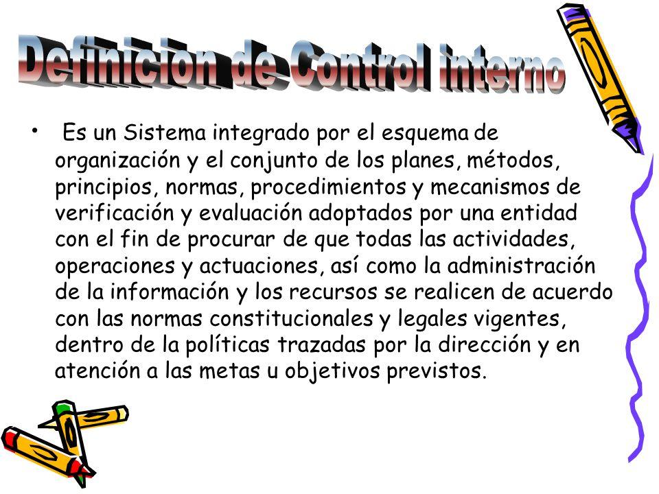 Definicion de Control interno