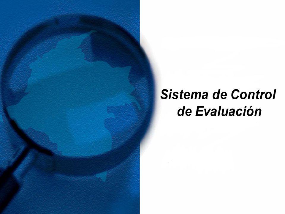 Sistema de Control de Evaluación