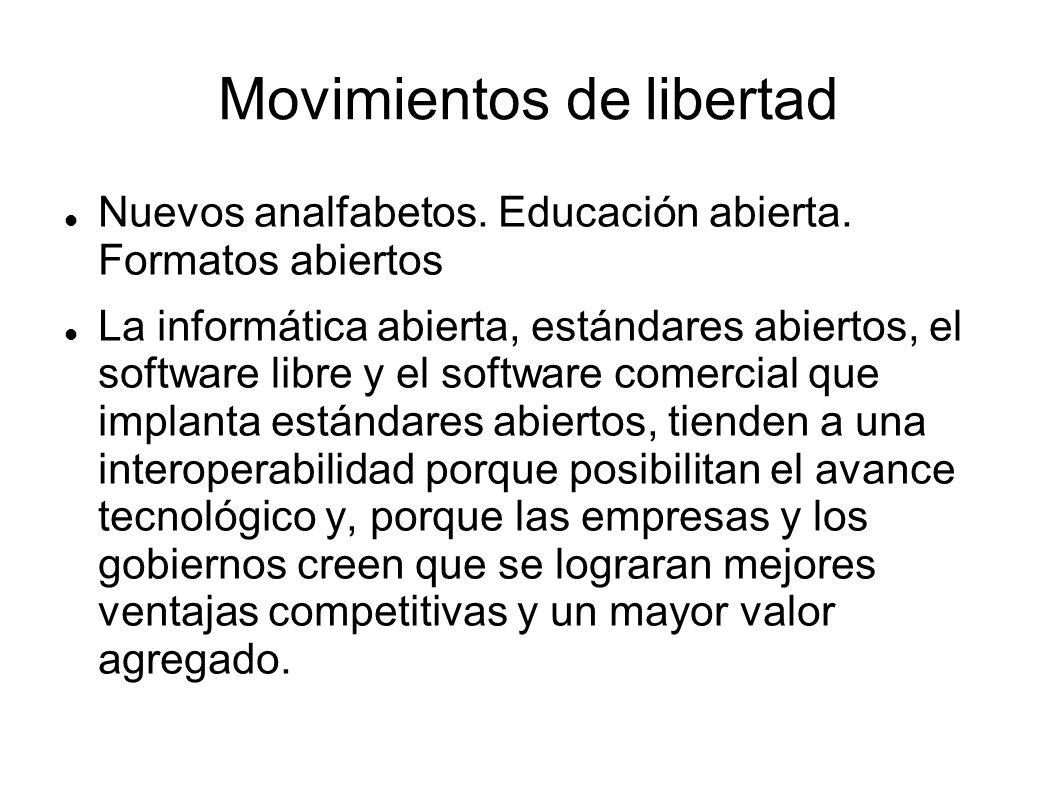Movimientos de libertad