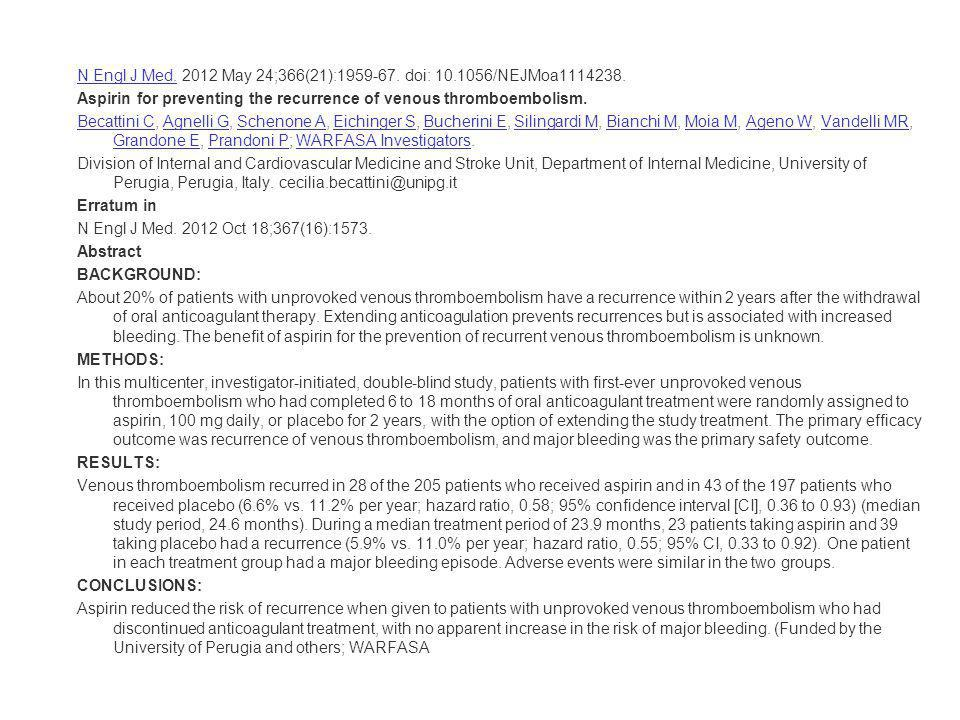 N Engl J Med. 2012 May 24;366(21):1959-67. doi: 10.1056/NEJMoa1114238.