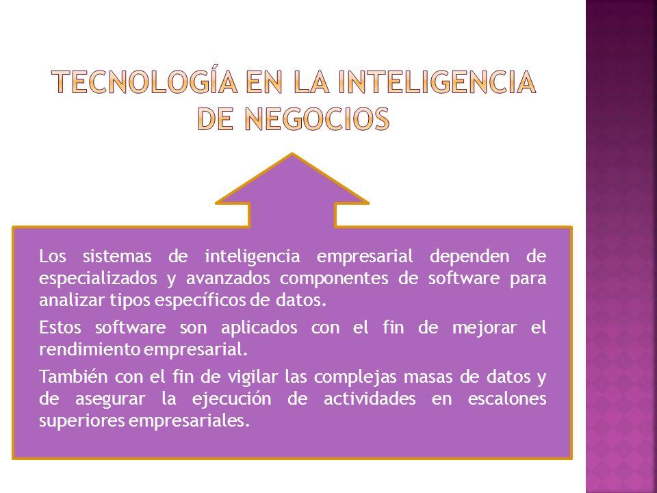 Tecnología en la inteligencia de negocios
