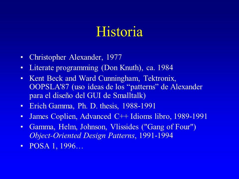 Historia Christopher Alexander, 1977