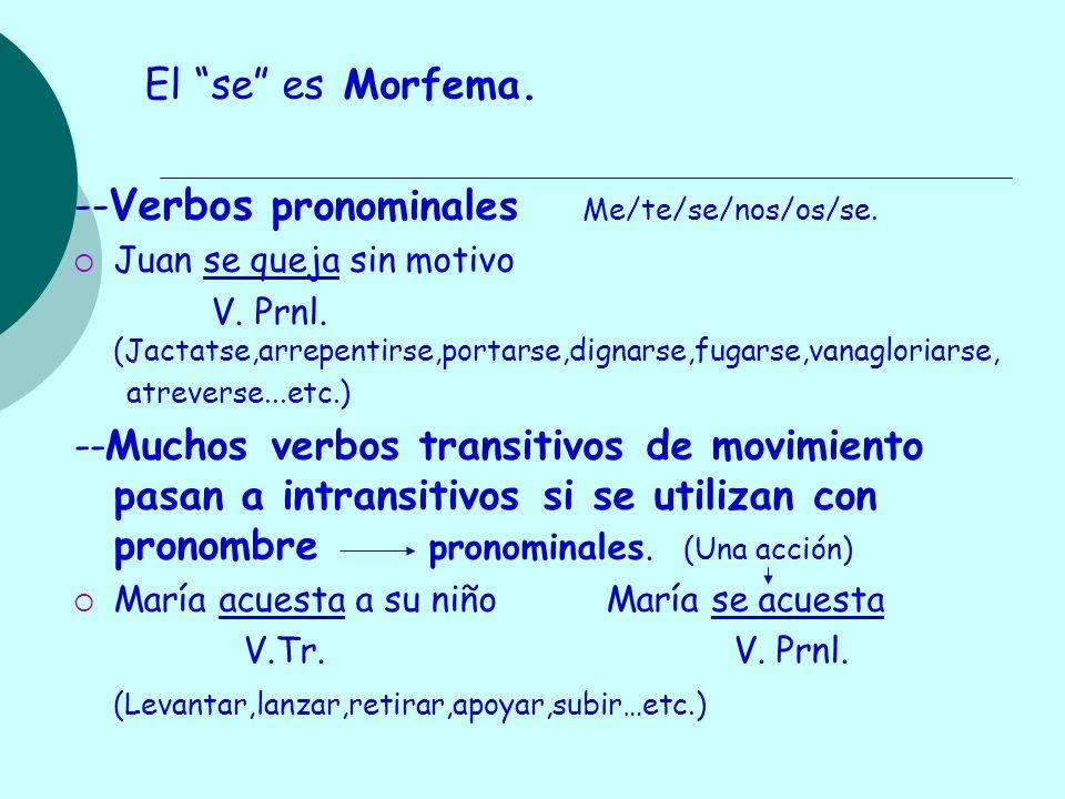 --Verbos pronominales Me/te/se/nos/os/se.