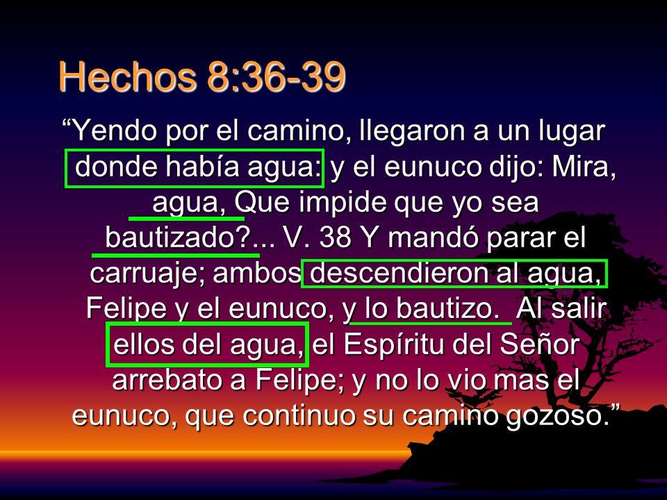 Hechos 8:36-39