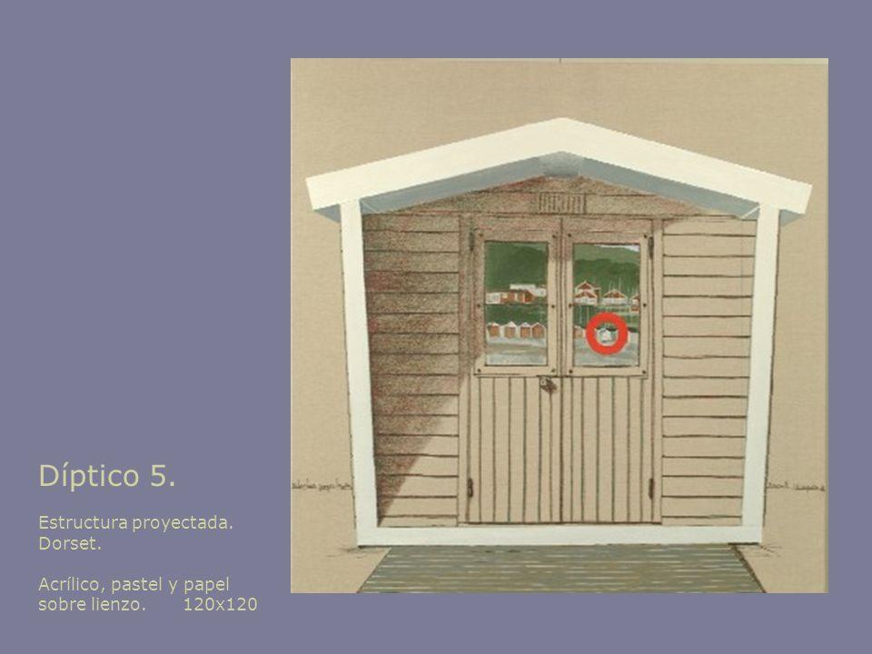 Díptico 5. Estructura proyectada. Dorset.