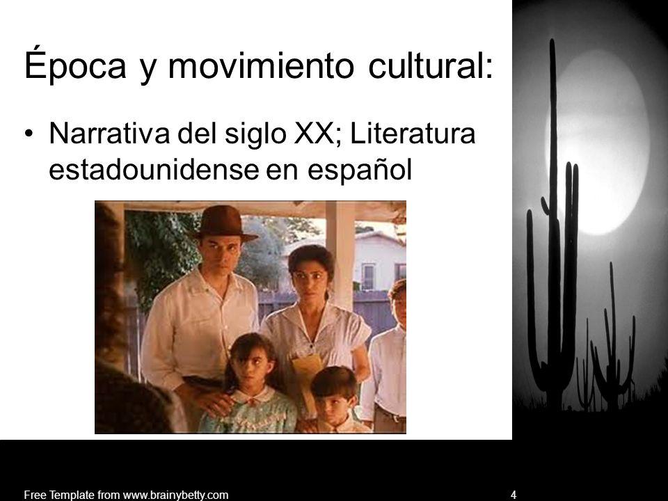 Época y movimiento cultural: