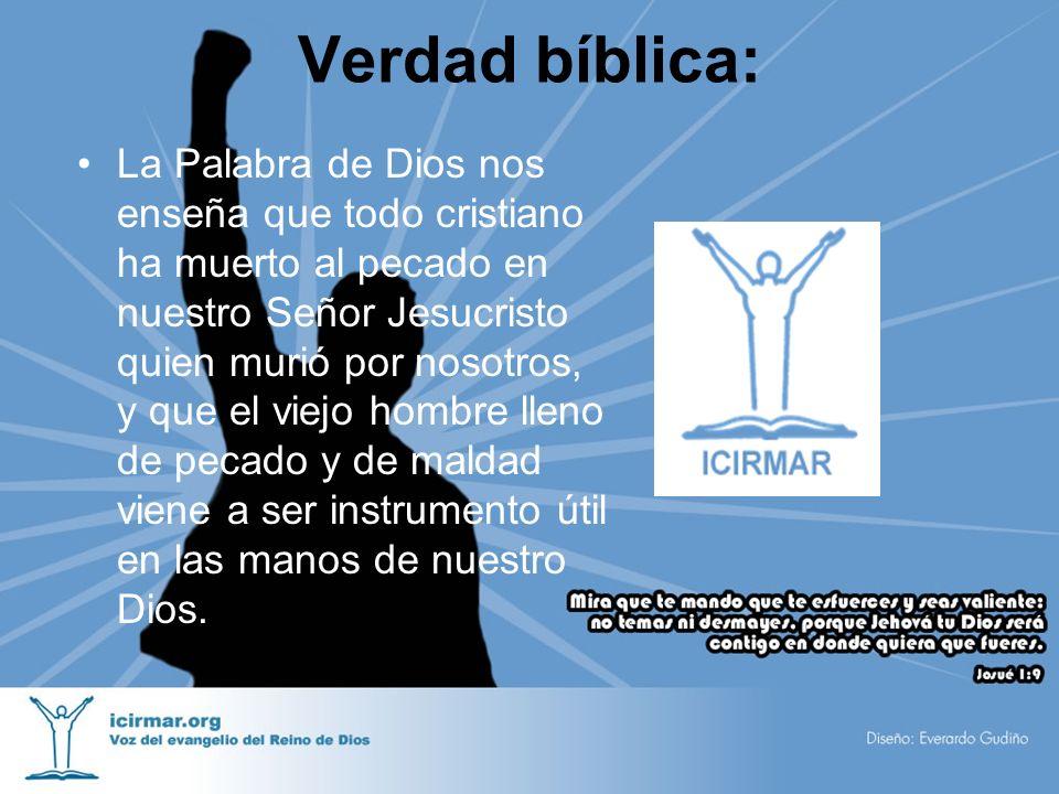 Verdad bíblica: