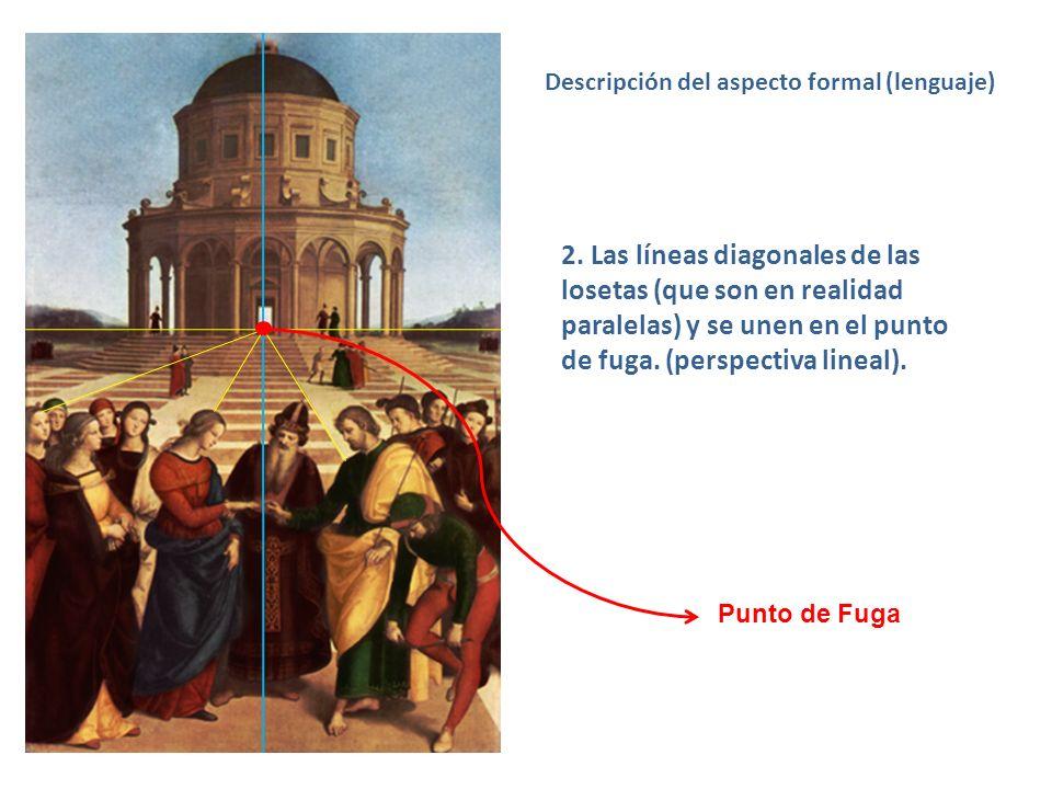 Descripción del aspecto formal (lenguaje)