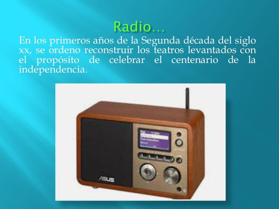 Radio…