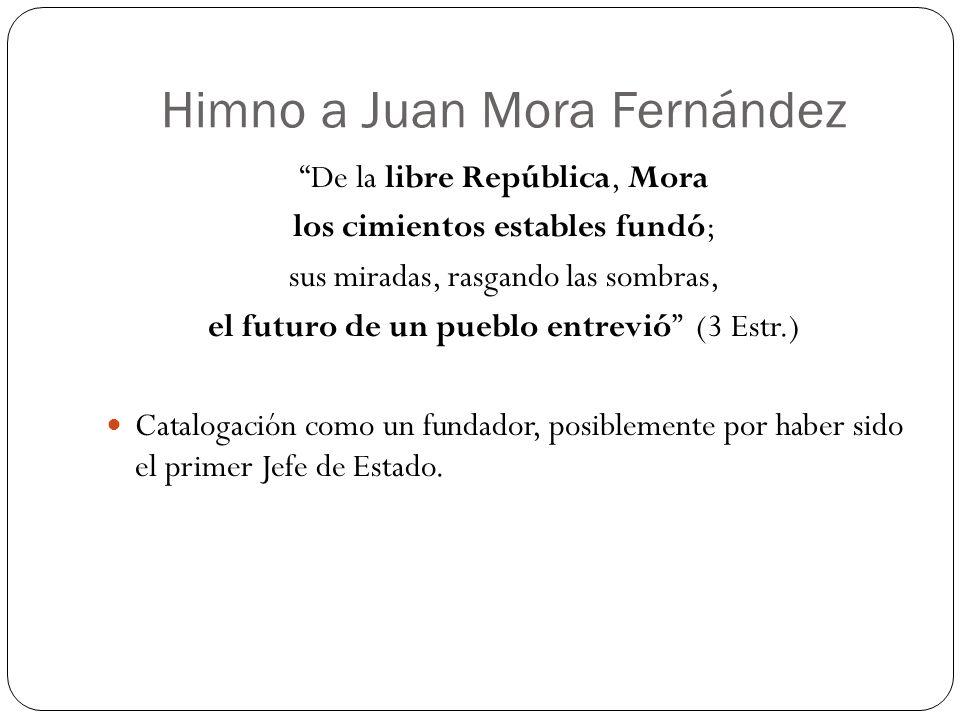 Himno a Juan Mora Fernández