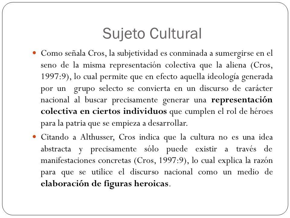 Sujeto Cultural