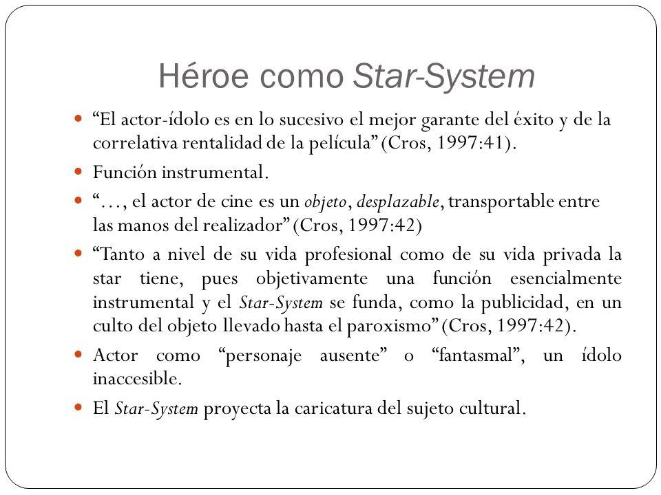 Héroe como Star-System