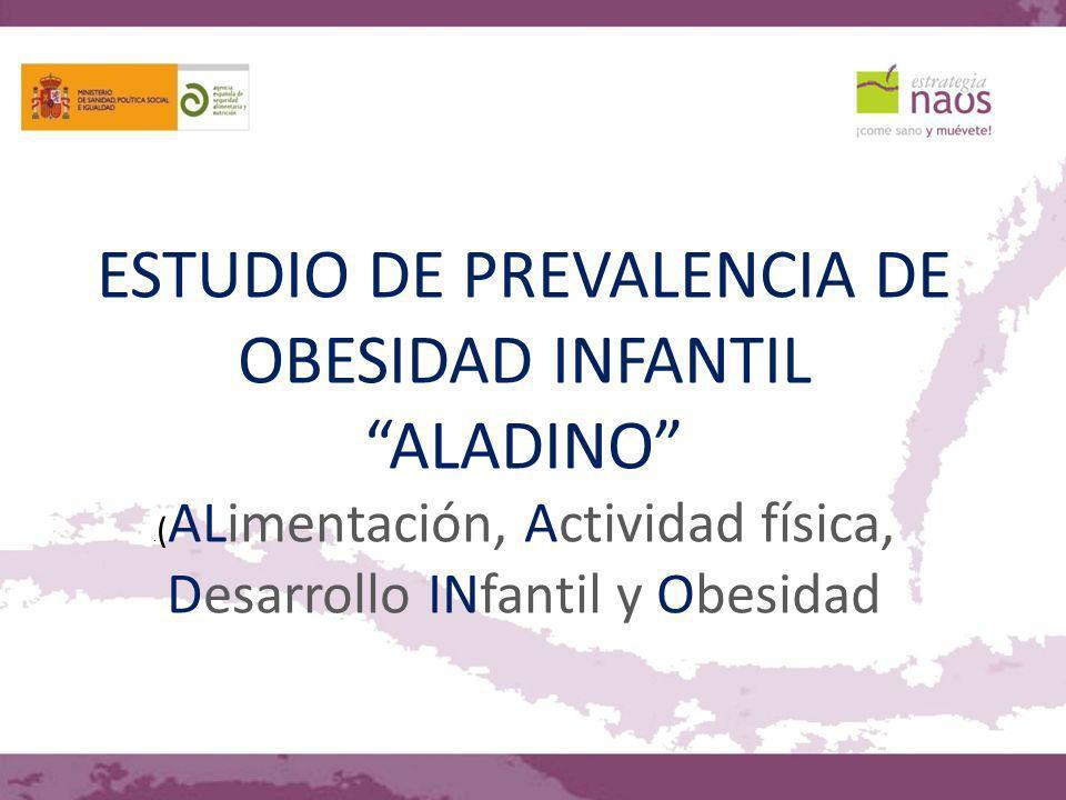 ESTUDIO DE PREVALENCIA DE OBESIDAD INFANTIL ALADINO