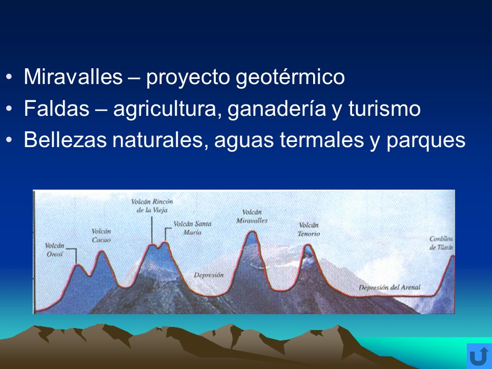 Miravalles – proyecto geotérmico