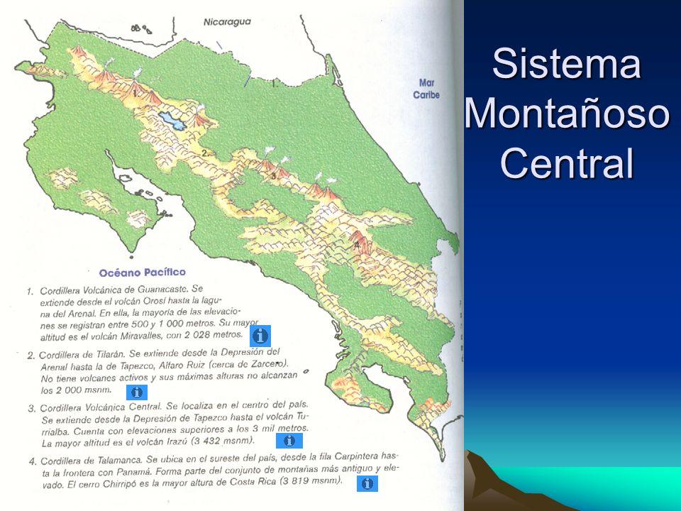 Sistema Montañoso Central