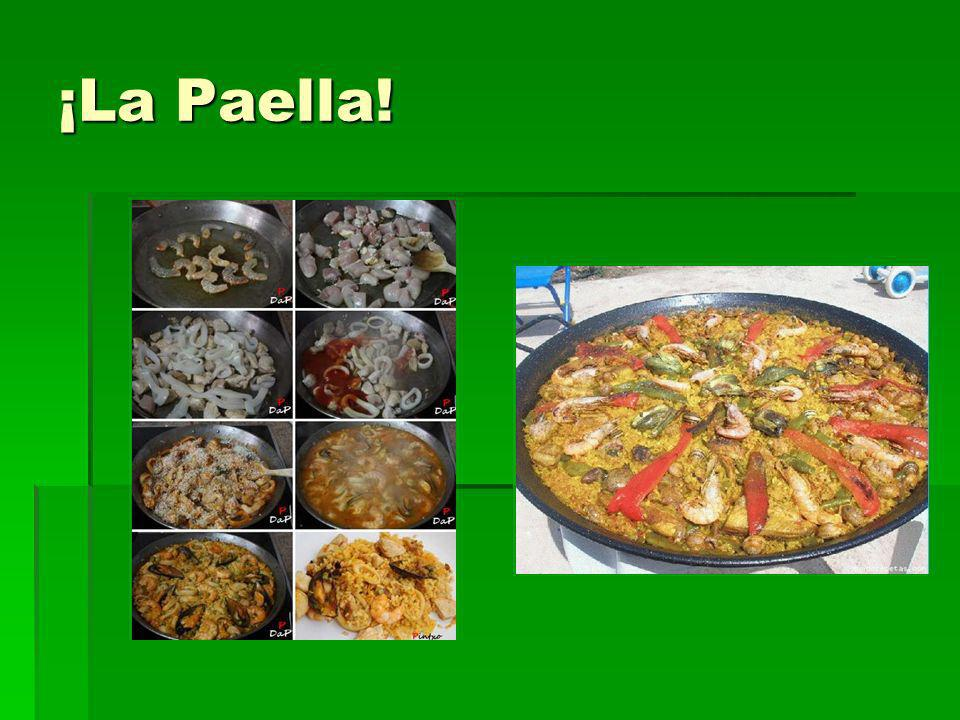 ¡La Paella!