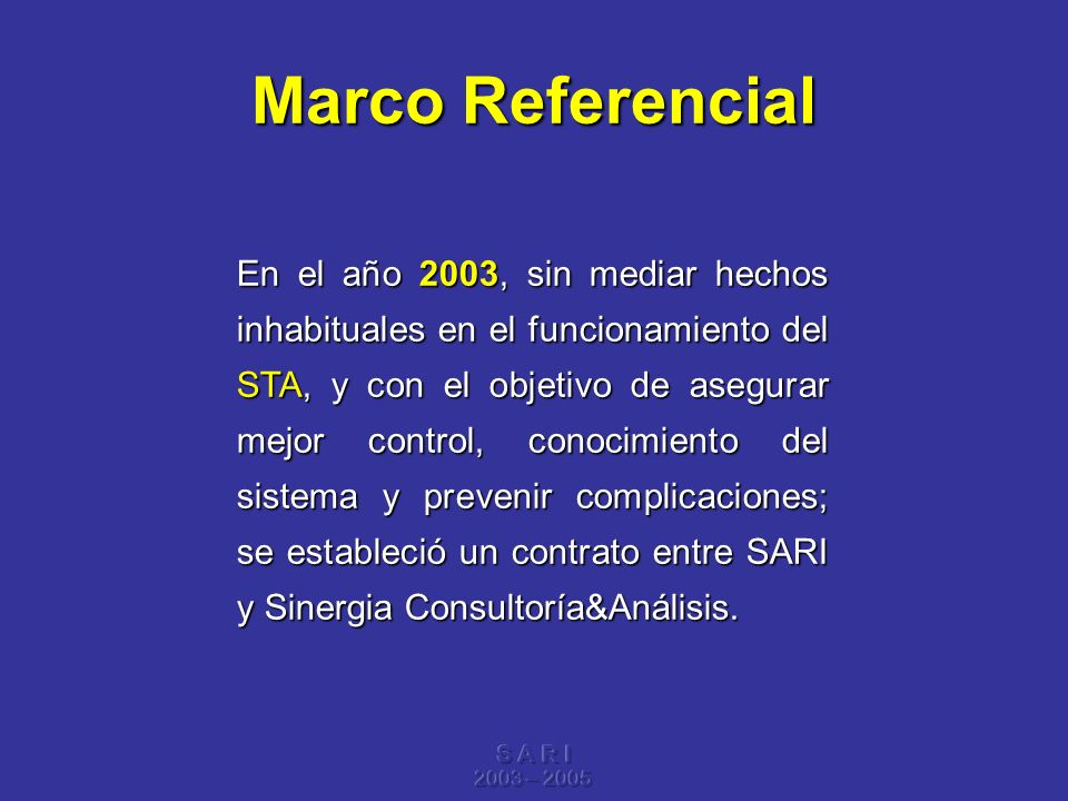 Marco Referencial