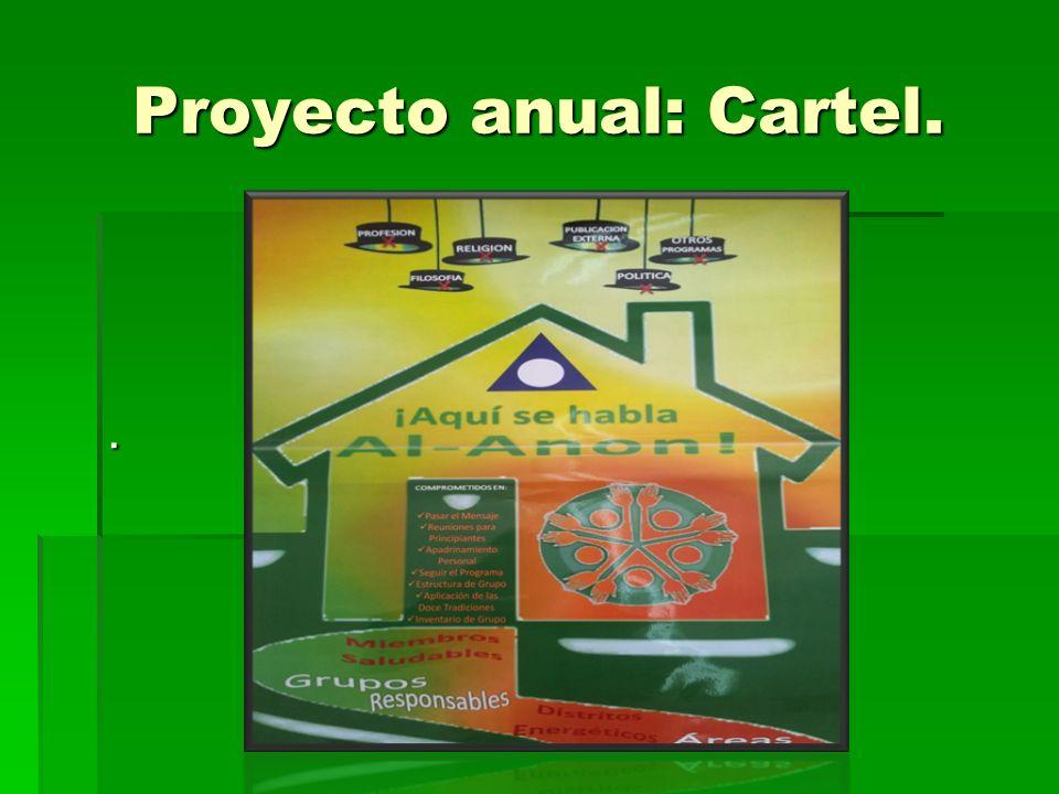 Proyecto anual: Cartel.