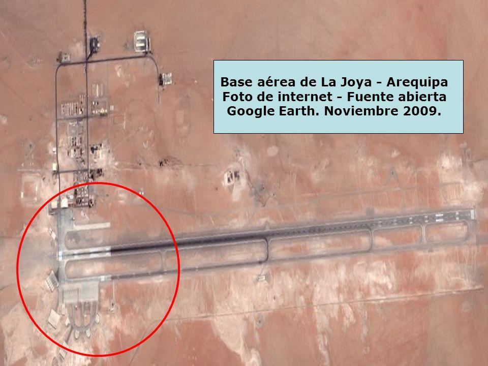 Base aérea de La Joya - Arequipa Foto de internet - Fuente abierta