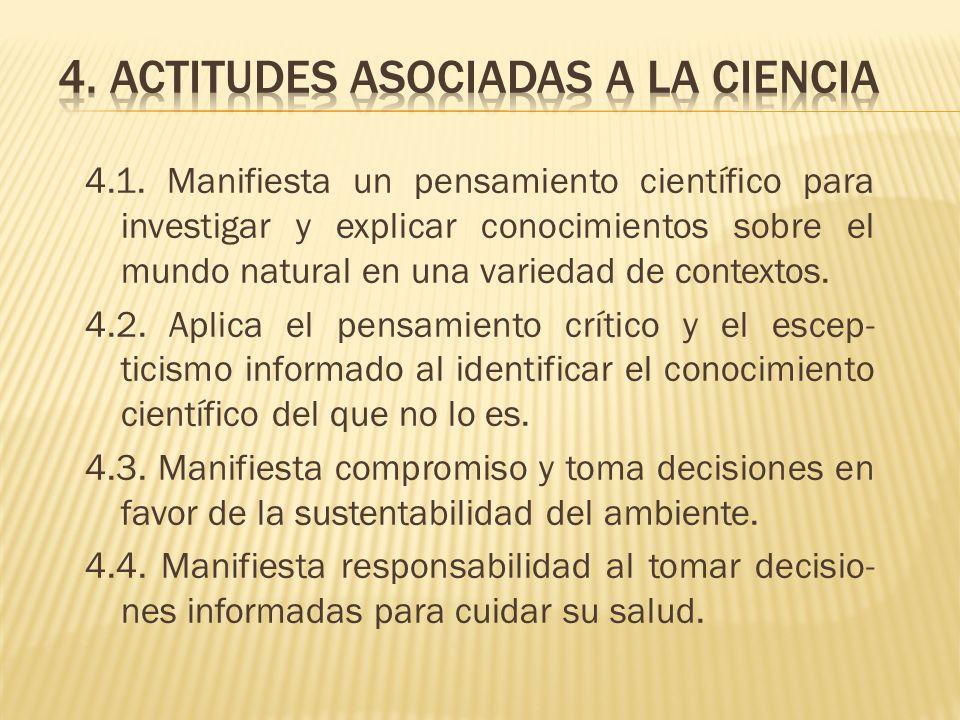 4. actitudes asociadas a la ciencia