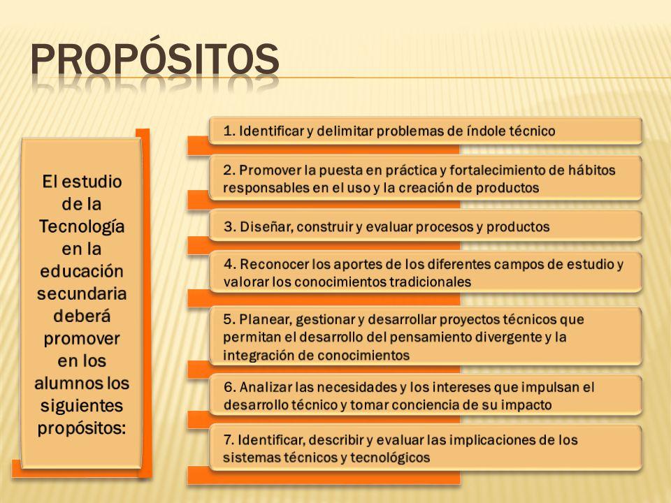 Propósitos 1. Identificar y delimitar problemas de índole técnico.