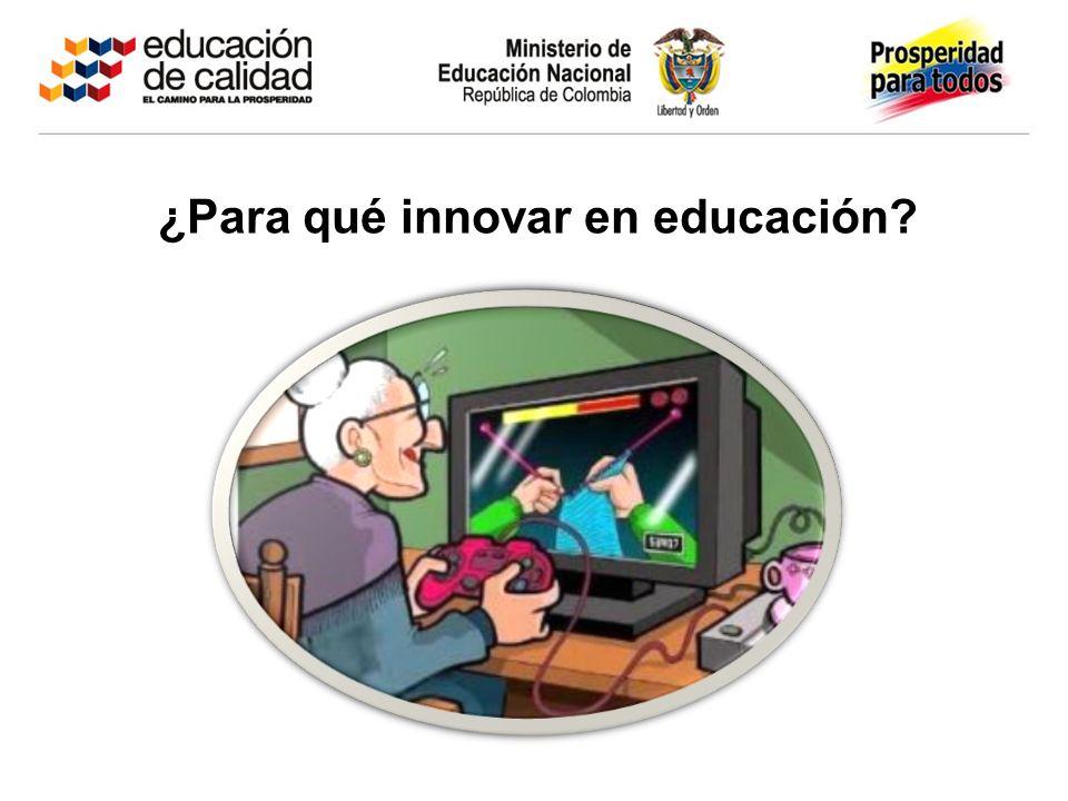 ¿Para qué innovar en educación
