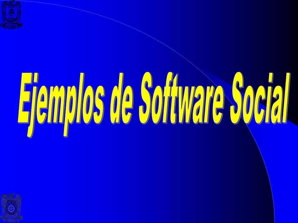 Ejemplos de Software Social
