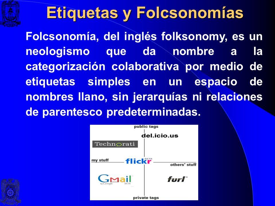 Etiquetas y Folcsonomías