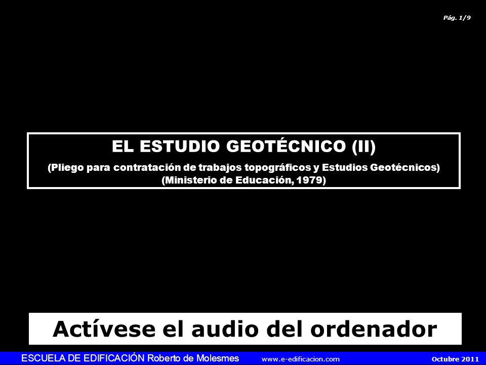 Actívese el audio del ordenador