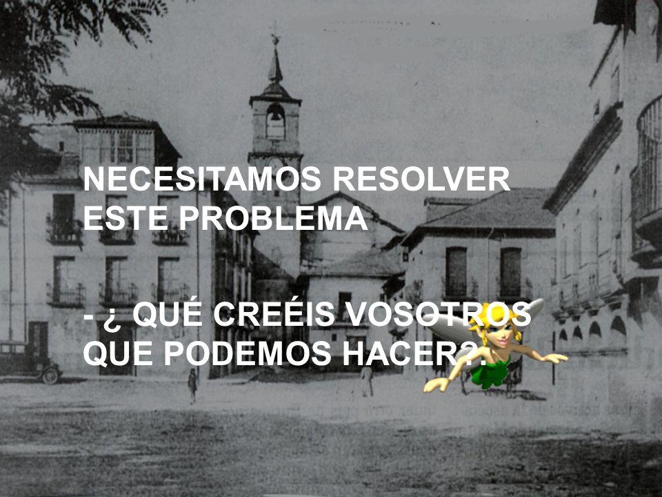 NECESITAMOS RESOLVER ESTE PROBLEMA