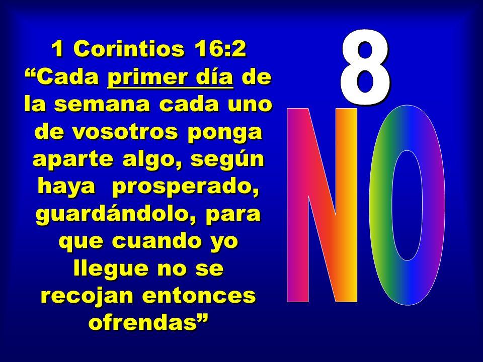 81 Corintios 16:2.
