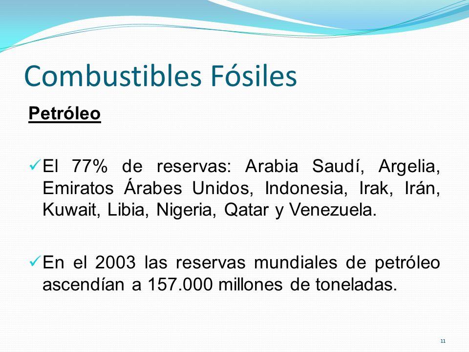 Combustibles Fósiles Petróleo