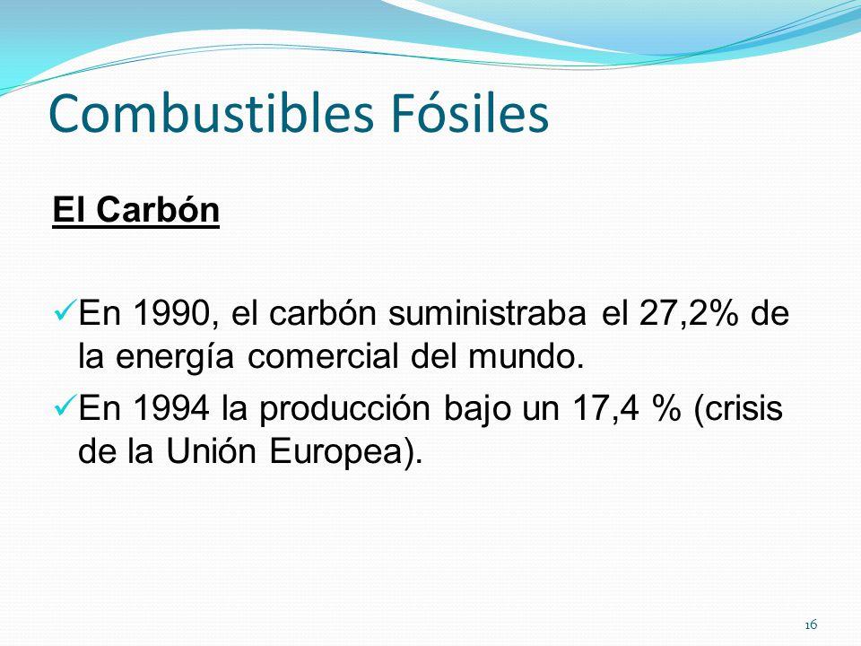 Combustibles Fósiles El Carbón