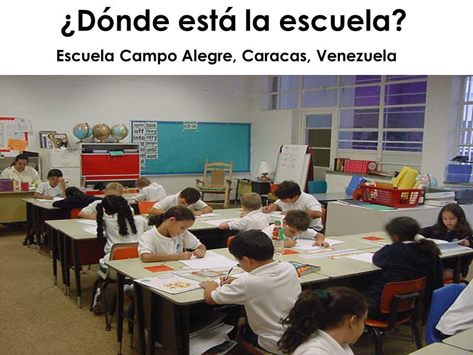 ¿Dónde está la escuela Escuela Campo Alegre, Caracas, Venezuela