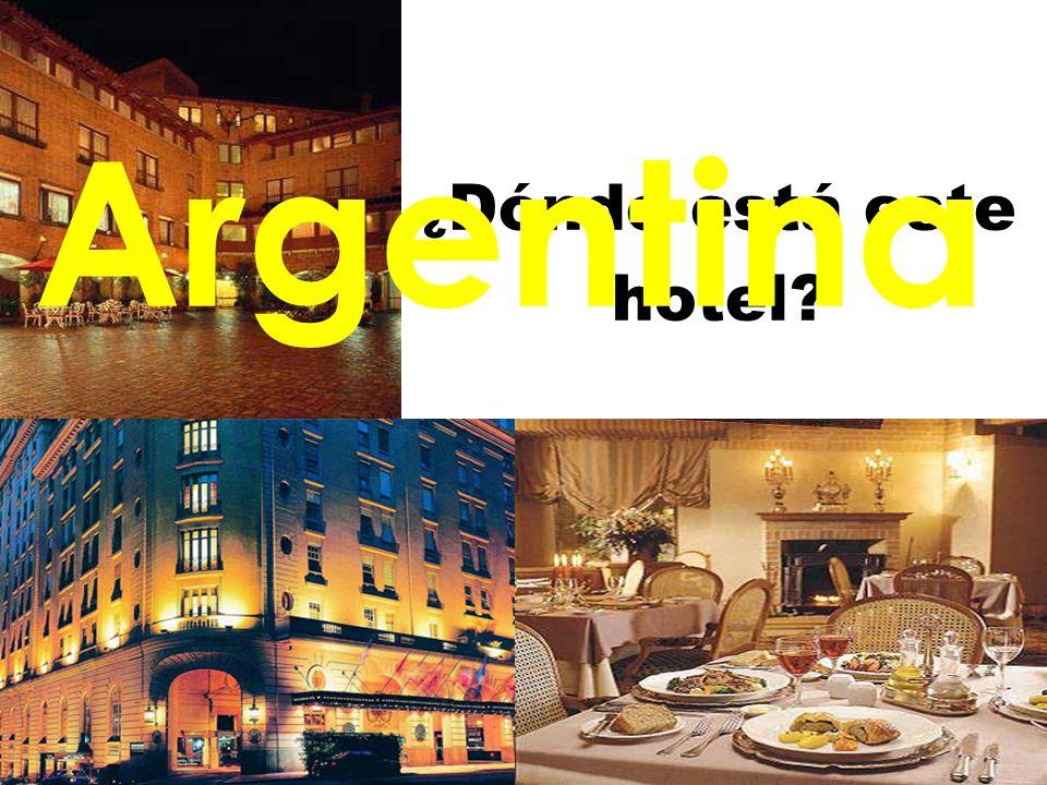 Argentina ¿Dónde está este hotel 9/28/09