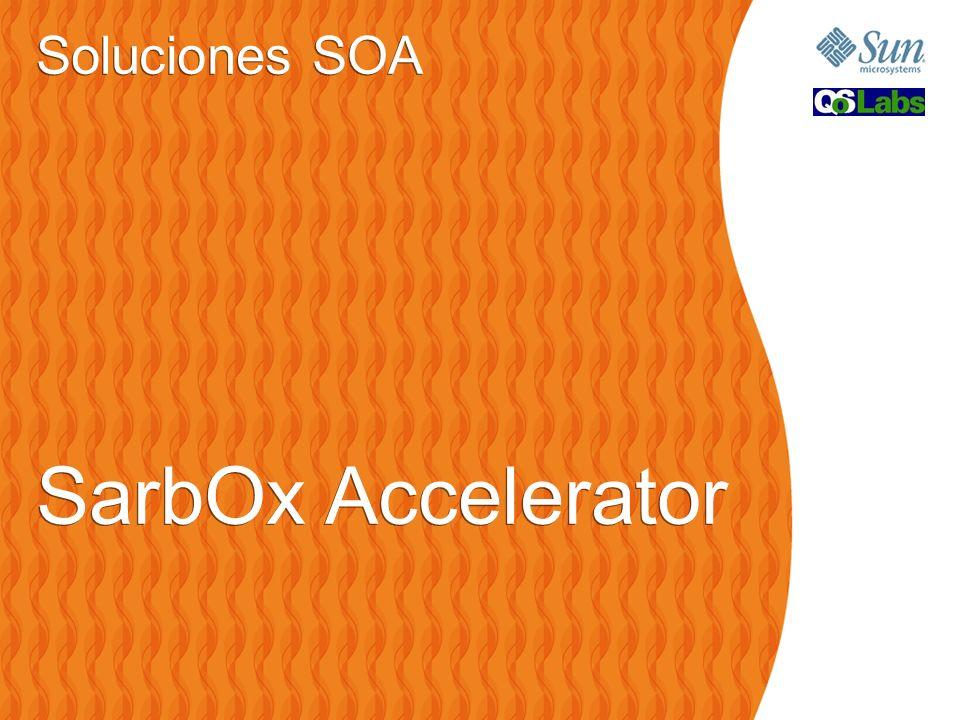 Soluciones SOA SarbOx Accelerator