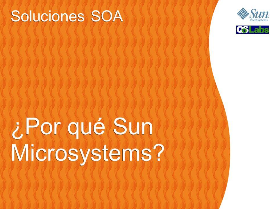 Soluciones SOA ¿Por qué Sun Microsystems