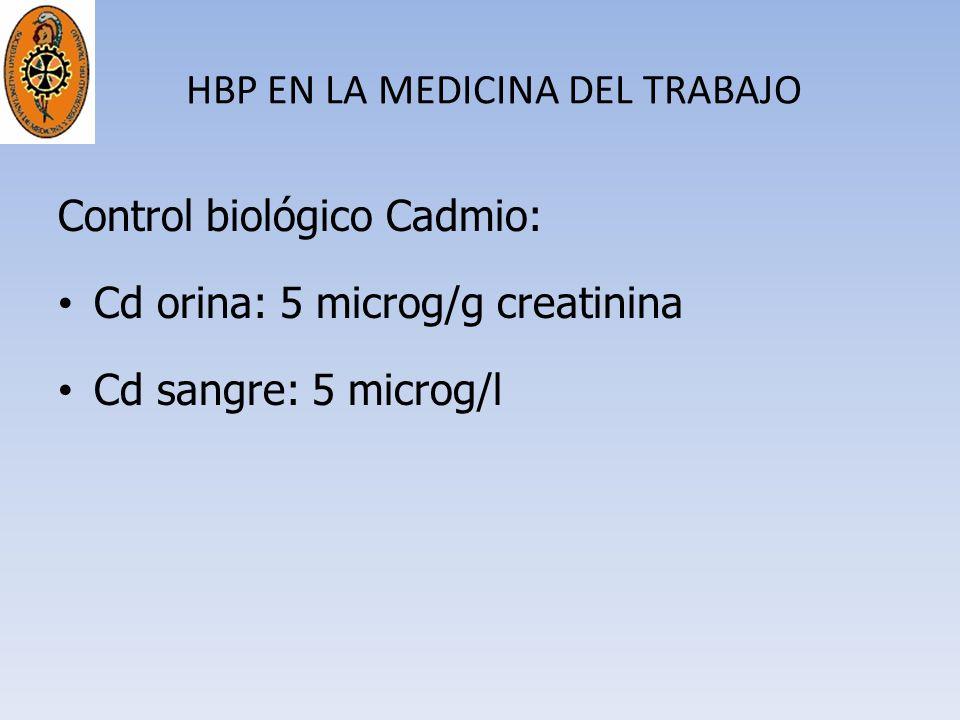 HBP EN LA MEDICINA DEL TRABAJO
