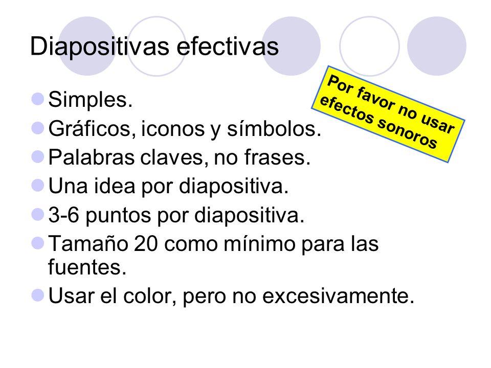 Diapositivas efectivas