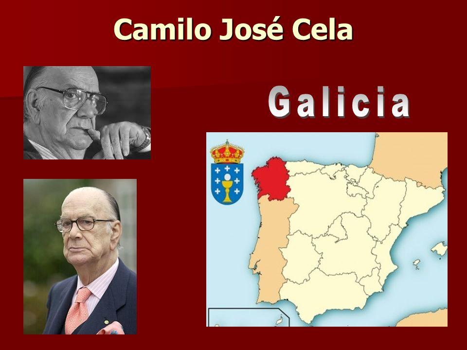 Camilo José Cela Galicia