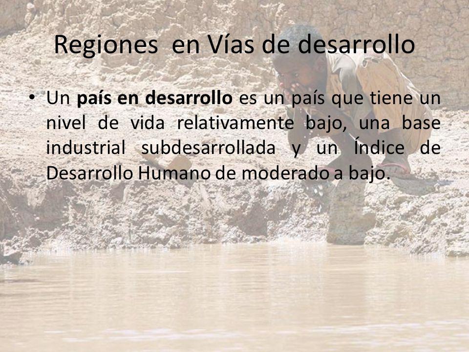 Regiones en Vías de desarrollo