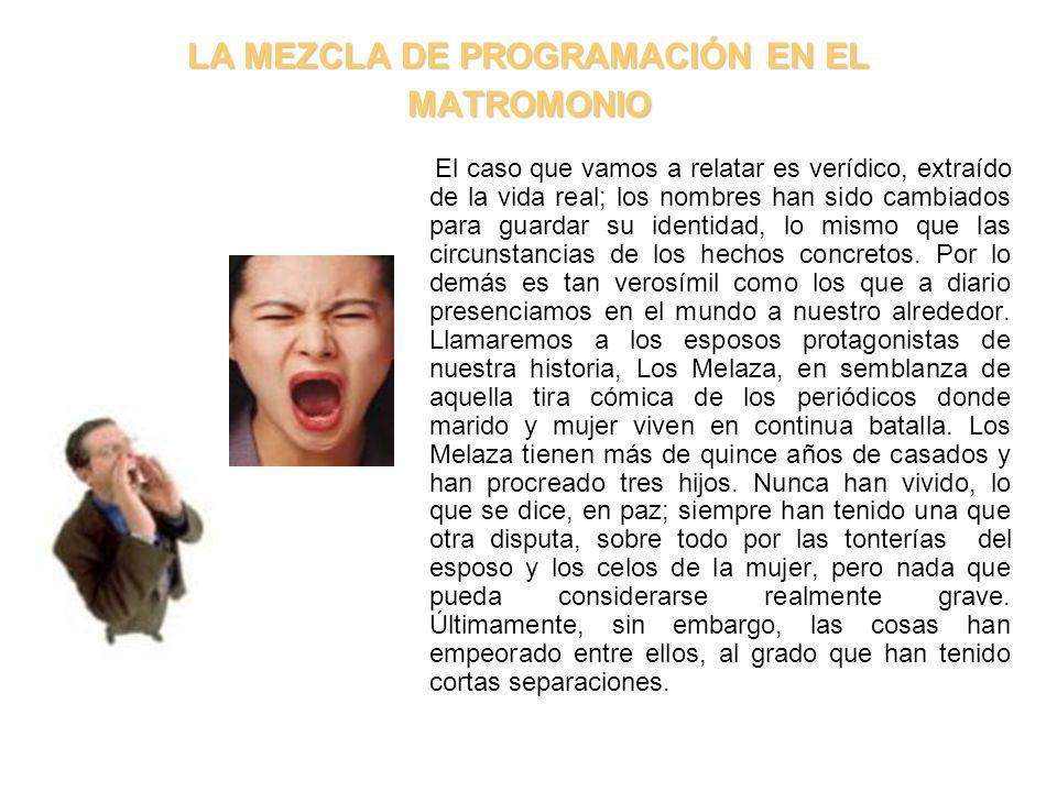 LA MEZCLA DE PROGRAMACIÓN EN EL MATROMONIO