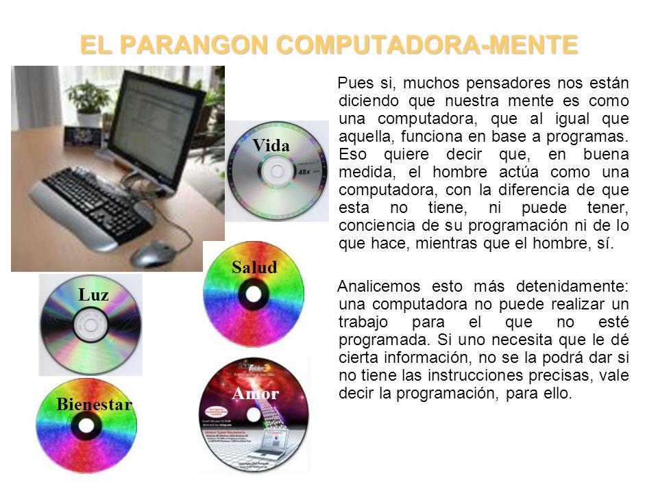 EL PARANGON COMPUTADORA-MENTE