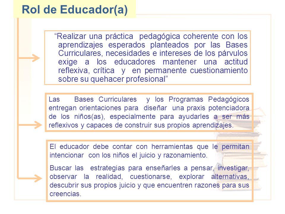 Rol de Educador(a)