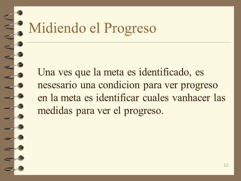 Midiendo el Progreso