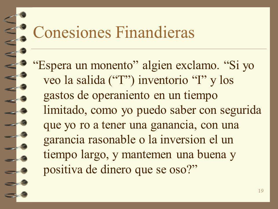 Conesiones Finandieras