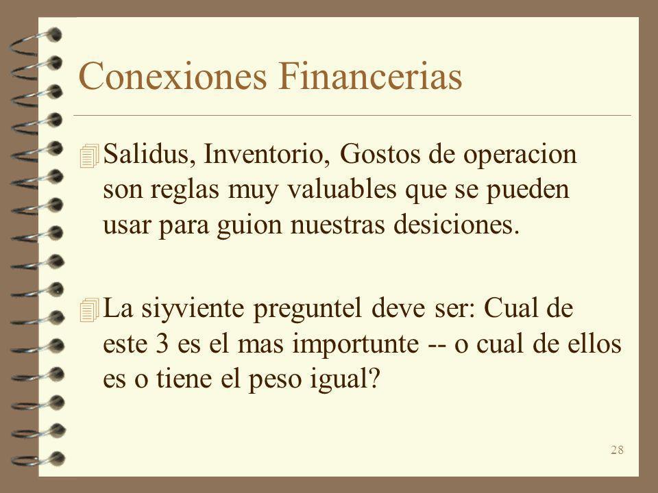 Conexiones Financerias