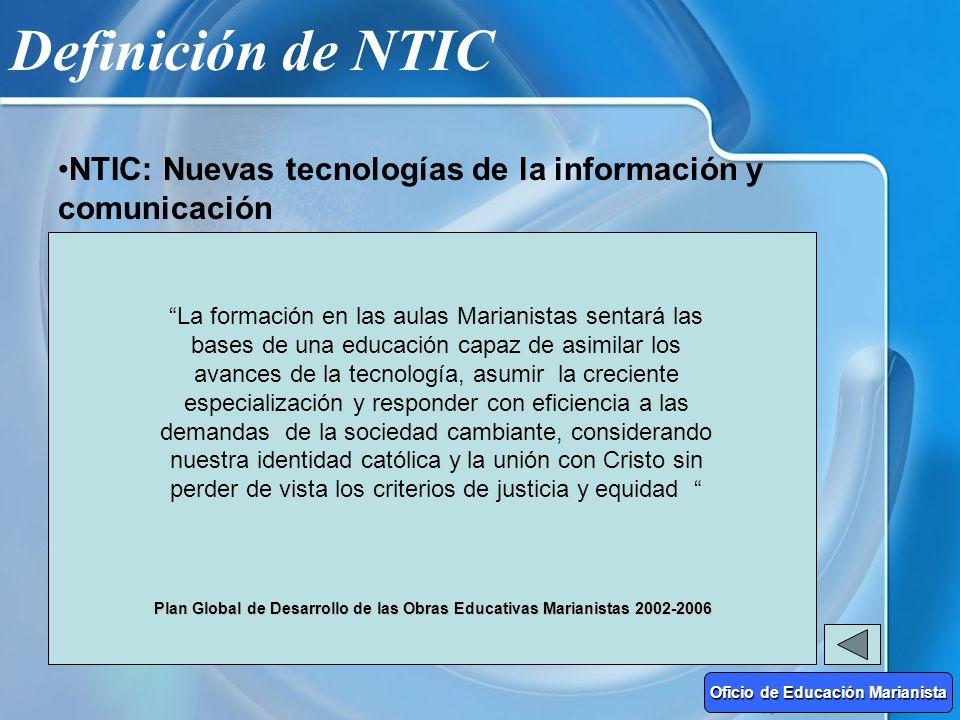 Definición de NTIC NUEVO ESTILO DE VIDA